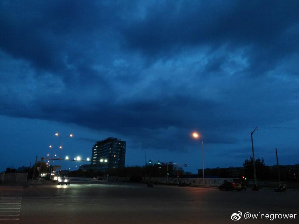是下雨前?还是下雨后的天空